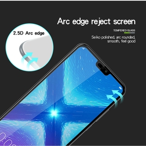Image 4 - 6D Protective Glass for Huawei Honor 9X 9X Pro Screen Protector Honor V20 On Tempered Glass for Huawei Honor 7X 8X 9X 10 Lite