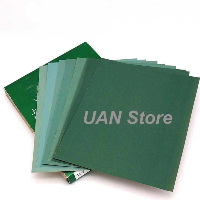 Grit 280 400 600 800 1000 1200  Dry Sandpaper Polishing Abrasive Waterproof Paper Sheets