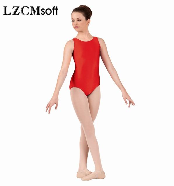 7abee56995d LZCMsoft Boys Black Tank Leotard Kids Spandex Lycra Ballet Dance Leotards  Bodysuits For Gymnastics Dancewear Performance Suits