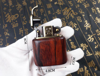 Gasoline Rosewood Vintage Fire Lighter8