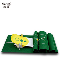 Caiton 2017 New Fun Precision Golf Putting Trainer Golf Putting Green Indoor Sports Golf Putter Practice