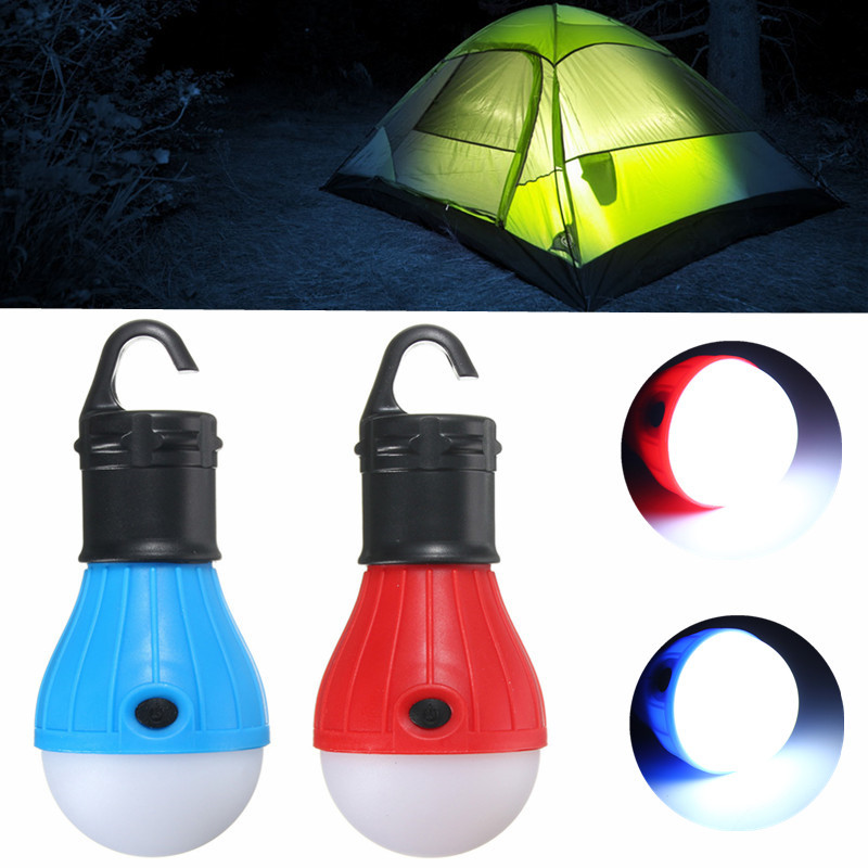 Smuxi 3 LED Outdoor Camping Tent Hanging Lamp Adventure Lanters Lamp Portable LED Light Hunting hut Fishing Garden Lamp Bulb