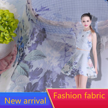 RUBIHOME New Arrival Wholesale (5 meters/lots) Summer Silk Soft Fabric for Making Women Dress Width 160cm Hot Sell