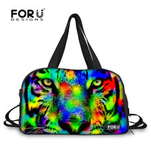 FORUDESIGNS Waterproof Canvas Sports Bag Ultralight Outdoor Athletics Bag for Men Team Training Bags Travel Duffle Tote Bags