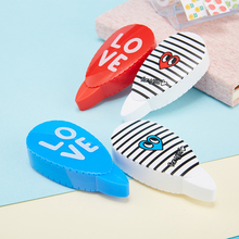 2 pcs/pair Love Heart Correction Tape Material Escolar Kawaii Stationery Office School Student Supplies Papelaria 6M