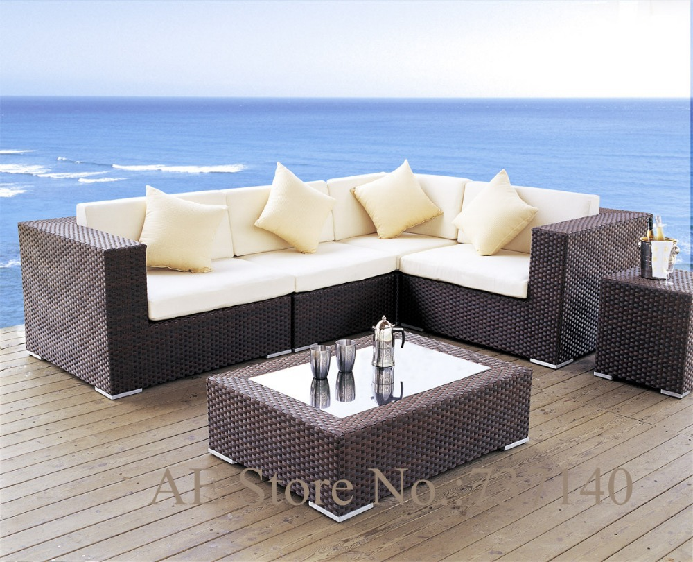 2017 Rattan Sofa Balkon