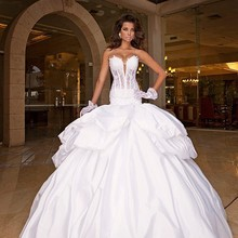 La MaxPa Ball Gown Sleeveless Floor Length Wedding Dresses