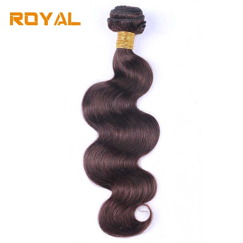 Brazilian Body Wave Hair Bundles 100% Human Hair Weave Brown Color 1Pc 100g Non Remy Hair Extension 8 28 Inch Free Shipping