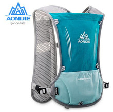 AONIJIE 5L Women Men Lightweight Running Backpack Outdoor Sports Marathon Hiking Fitness Bag Hydration Vest Pack