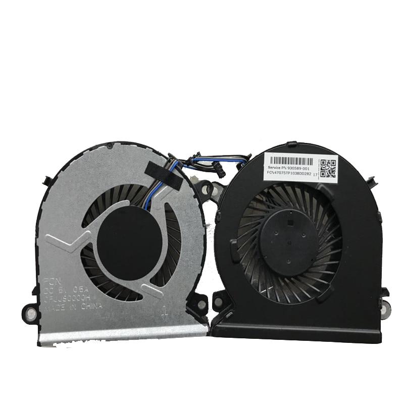 New original cpu fan for HP 15 CB 15 CB076TX 15 CB073TX TPN Q193 NS75B00 16L12 930589 001 OFJJSOOOOH Fans & Cooling     -