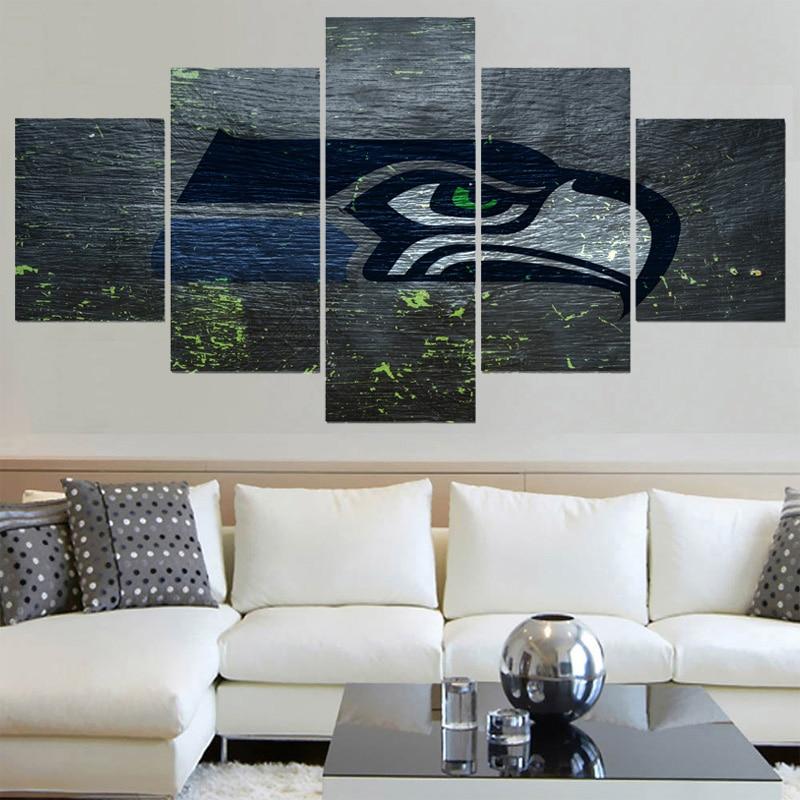 Único Arte Seahawks Enmarcada Modelo - Ideas de Arte Enmarcado ...