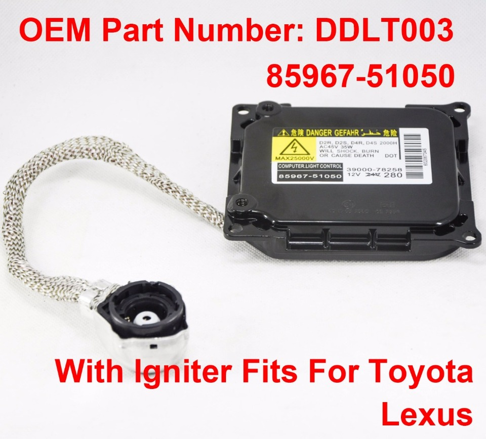 35W Hid Xenon Headlight D2 D4 Canbus Lastro Ignição decodificador Controle lâmpadas Slim