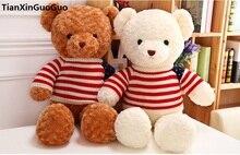 large 65cm cute Teddy bear plush toy flag sweater teddy bear soft doll throw pillow birthday