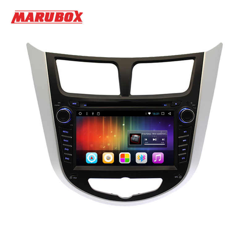 "Marubox 2Din 7 ""Android 7,1 2 GB de RAM para HYUNDAI Solaris 2012-2016 Verna acento I25 Radio Navi reproductor Multimedia de DVD para coche 7A300DT3"