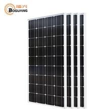 Boguang 4*100 Вт солнечные панели кремния монокристаллического кремния ячейки сетки Системы 12v24v 1175*530*25 мм размеры Топ батареи Китай RU наличии
