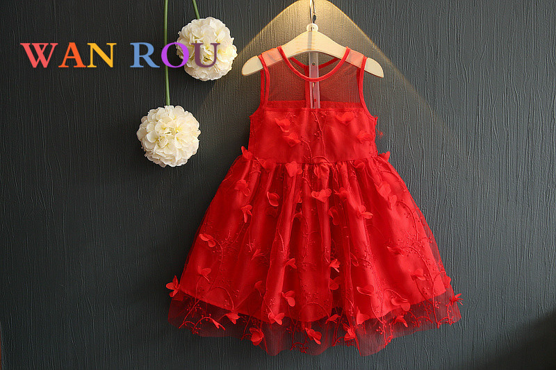2018 Spring Arrivals Fashion Kids Baby Girls Toddler Infant Cute Red Princess Dress 1-6 Years Clothes Children Dresses Clothing2018 Spring Arrivals Fashion Kids Baby Girls Toddler Infant Cute Red Princess Dress 1-6 Years Clothes Children Dresses Clothing