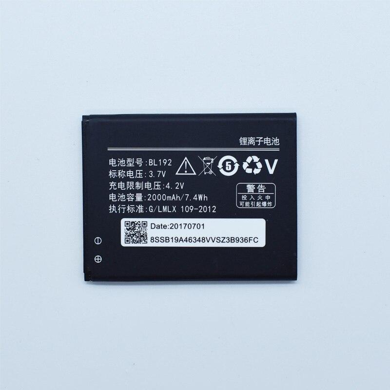 Hekiy New 2000mAh high Capacity New BL192 battery for Lenovo A300 A750 A328 A328T A526 A388T A529 A680 A590 Cellphone