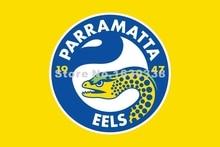 Parramatta Eels Flag 3ft X 5ft National Rugby League NRL Banner Size 4 144* 96cm Flag