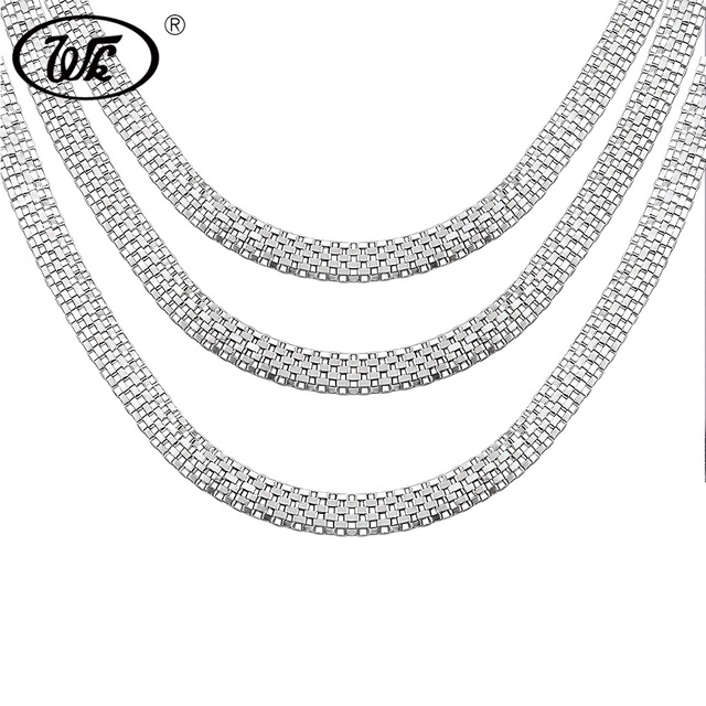 titanium stainless necklaces link necklace male nitrogen and tungsten chains chain s men steel