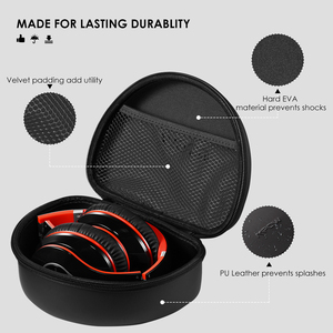 Image 2 - Mpow Headphone Carrying Case Universal Outdoor Storage Protective Bag Pouch for Foldable Headsets Over ear Foldable Headphones
