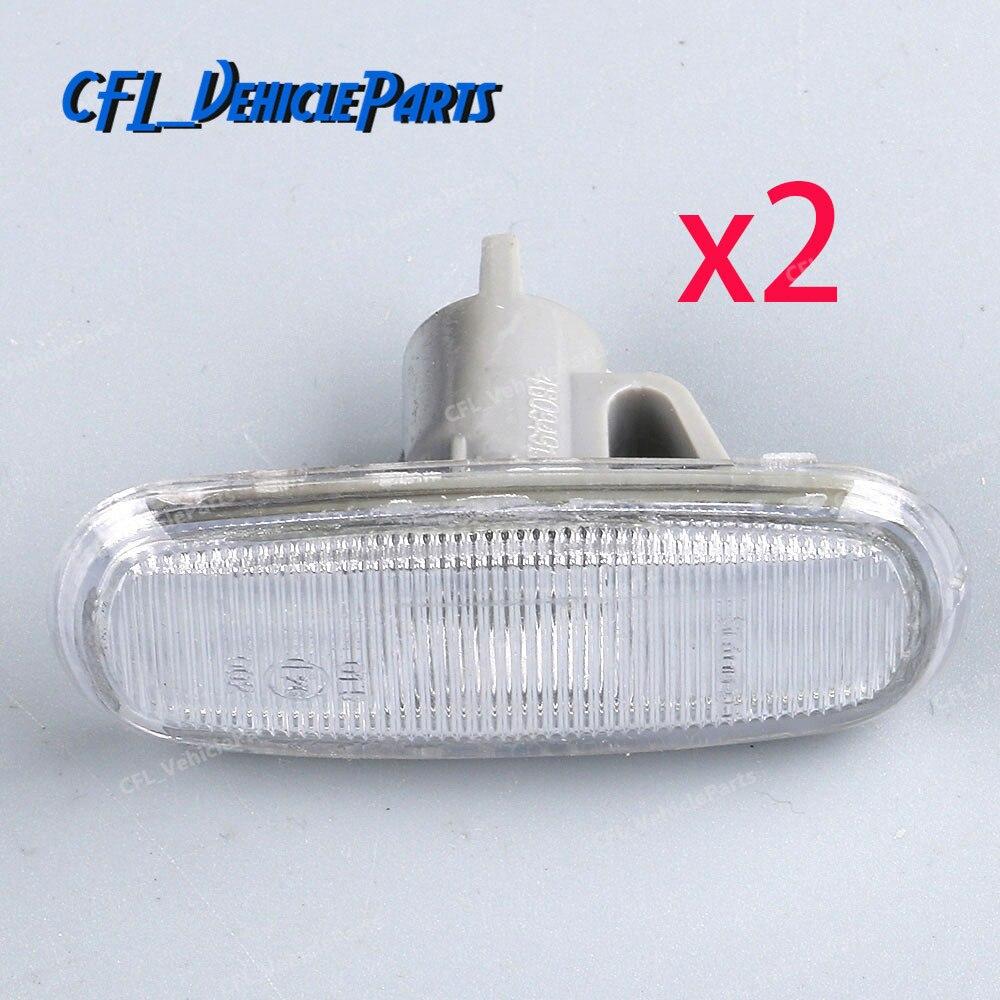 hight resolution of 2pcs side signal marker light housing cap lens 4b0949127 for audi a6 c5 1998 2001 a8 d2 2000 2003 s8 2001 2003 tt 8n 2000 2003
