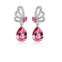 Elegant Alloy With Crystal Women's Earrings 1