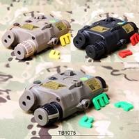 Free Shipping FMA PEQ LA5-C Upgrade Version LED White light + Green laser with IR Lenses BK/DE/FG