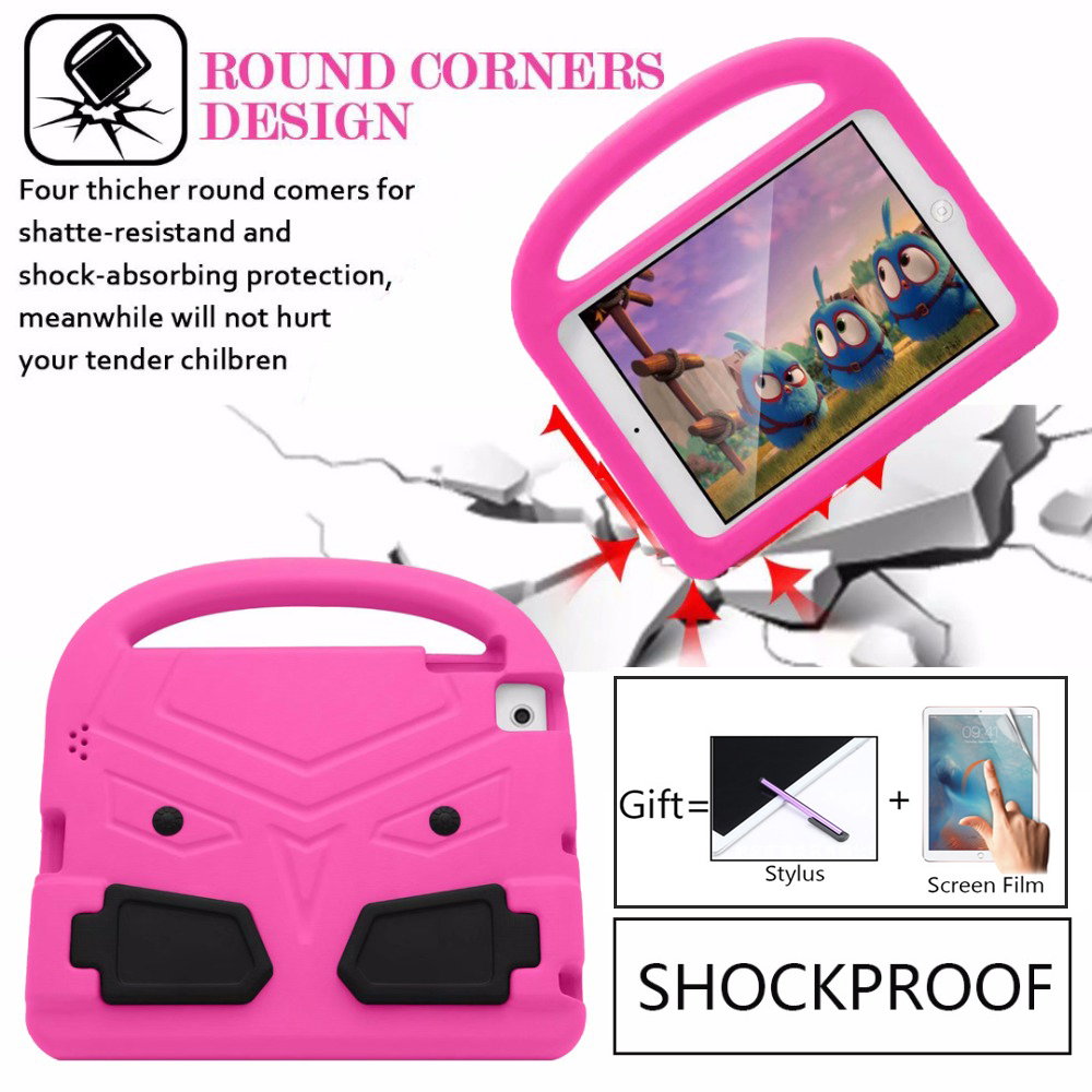 For IPad 2 3 4 Case 360 Full Protect Stand Cover For Apple Ipad 2 3 4 Case Heavy Duty Hybrid Shockproof Silicone For Kids Gift