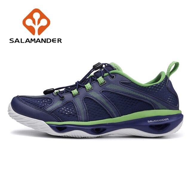 SALAMANDER Men s Summer Outdoor Aqua Water Shoes Sneakers Watersport For Men  Rainy Barefoot Fishing Hiking Sandals Shoes Man cf61b15802a9