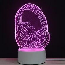Luci 3D LED Lampada