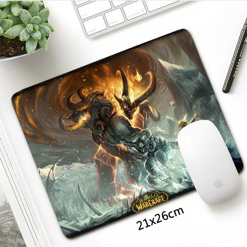 New Hearthstone Heroes of Warcraft Mousepad Gaming Anti Slip