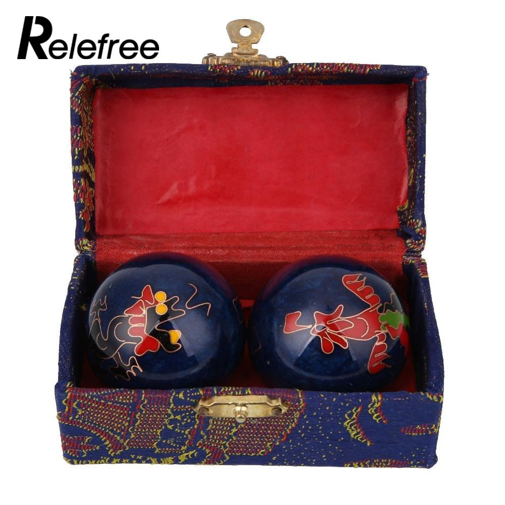 Cloisonne Health Exercise Stress Baoding