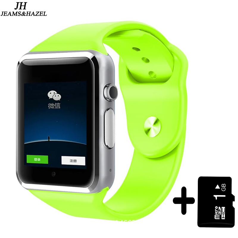 A1 bluetooth Smart Watch HD Screen Support SIM Card Wearable Devices SmartWatch For apple Android pk dz09 gt08 watch цена 2017