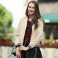 Veri Gude Женщины Искусственная Кожа Жакет Пальто на Осень