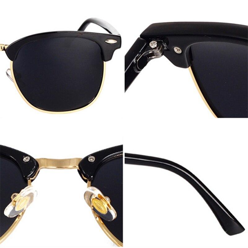 fdd088f253 YOOSKE Classic Polarized Sunglasses Men Women Retro Brand Designer High  Quality