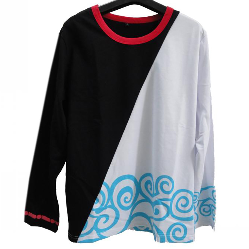 Gintama Long Sleeve T Shirt men women colthing O-neck t-shirt anime cosplay costume Tops & Tees