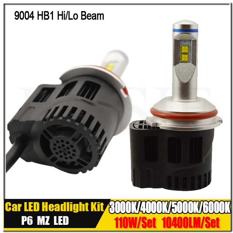 9004 HB1 9007 HB5 H4 HB2 9003 H13 9008 Canbus P6 LumiLEDs LMZ 10400lm Car LED Bulb Headlight Fog Light Conversion Kit 12V-30V 2x h13 h4 9003 hb2 9004 9007 110w 10400lm lumileds chips led car auto canbus headlight light bulb no error fog lamp h l