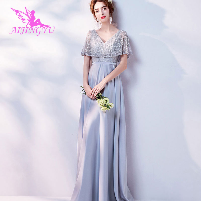 2019 Latest Design Aijingyu 2018 Custom Made Free Shipping New Hot Selling Cheap Ball Gown Lace Up Back Formal Bride Dresses Wedding Dress Tj591