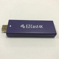 EZCast MHL sortie et sortie HDMI 4 K TV Dongle avec double Bande 2.4 GHz 5 GHz WiFi HDMI DLNA Miracast Affichage Airplay récepteur