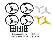 2.8 polegadas 2840 Hélice Prop Guard Protector Bumper Metade Surround/All Surround para KingKong Mini Drone Quadcopter F21478/F21481