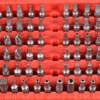 100pcs Set Bits Set Sturdy Chrome Vanadium Steel Screwdriver Head Set Professional Torx Hex Bit Set