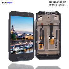 For Nomu S30 Mini LCD Display Touch Screen Digitizer For Nomu S30 Mini With Frame Display Screen LCD Assembly Phone Parts цена в Москве и Питере