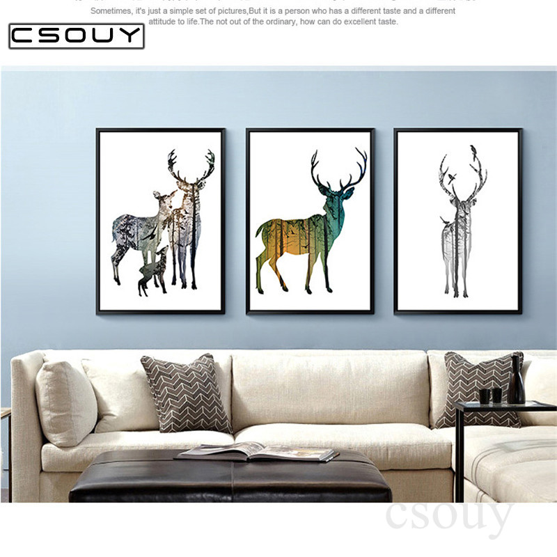 5D Diy <font><b>Diamond</b></font> Embroidery Happy Deer Family 3D <font><b>Diamond</b></font> <font><b>Painting</b></font> Cross Stitch <font><b>Full</b></font> <font><b>Square</b></font> Drill Mosaic met <font><b>vierkant</b></font> <font><b>steentjes</b></font> image