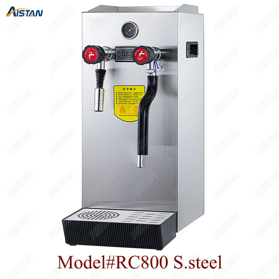 RC800 Commercial stainless steel Water Boiling Machine electric multifunctional steam water boiler for bar 220V 1