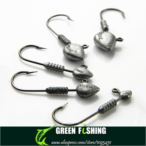 10 Pcs Hot Sell Crank Jig Fishing Hook Barbed Hook Fishing Accessories ILOE