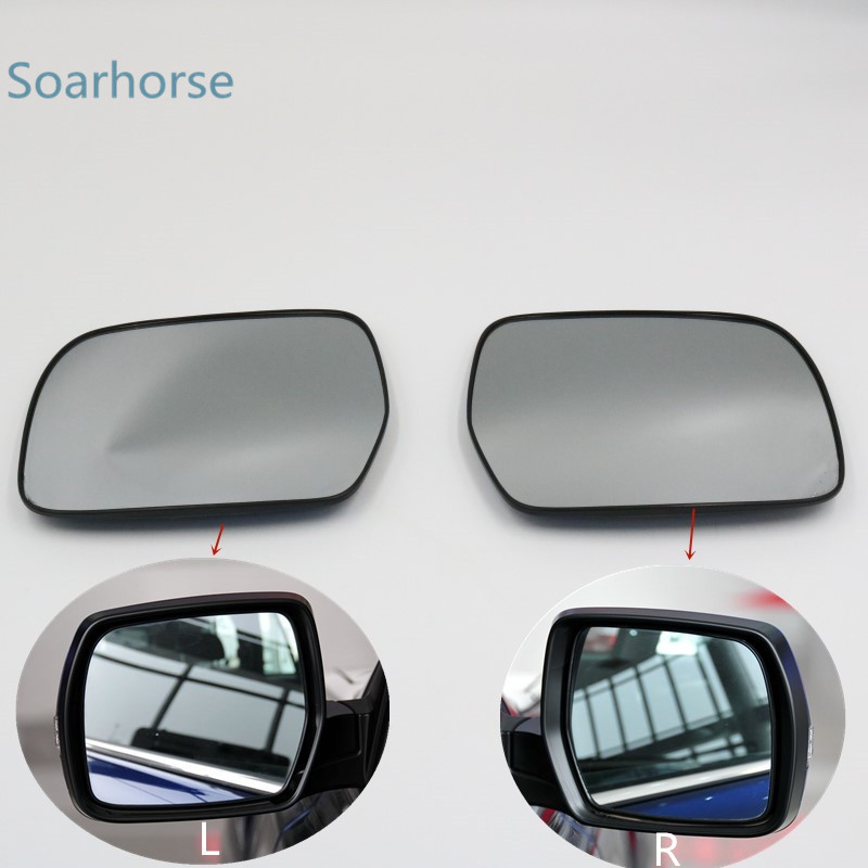 Q7 RIGHT SIDE Wing Mirror Glass With Base Heated Wide Angle 2015 to 2018