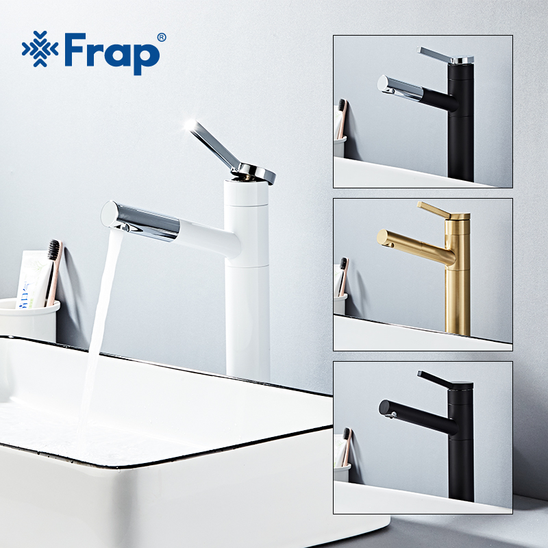 Frap Basin Faucet Single Handle Mixer Tap Deck Mounted Pull Out Bathroom Waterfall Faucet Sink Hot