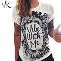 Graphic Tees Women Summer Tops 2016 Street Harry Styles Tumblr T Shirt Print Black Floral Letter T-shirt Cotton Womens Shirts