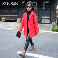 Christmas Girls Coats and Jackets Winter Girls Kids Red Coat Windbreaker Outerwear Children Clothes Fashion Snowsuit Wear G229