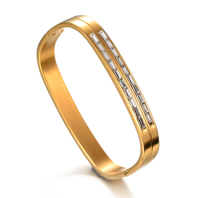 shaped bangles designer pin bangle shape square in gold